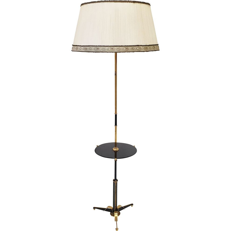 Vintage French lamppost in brass and nylon 1950