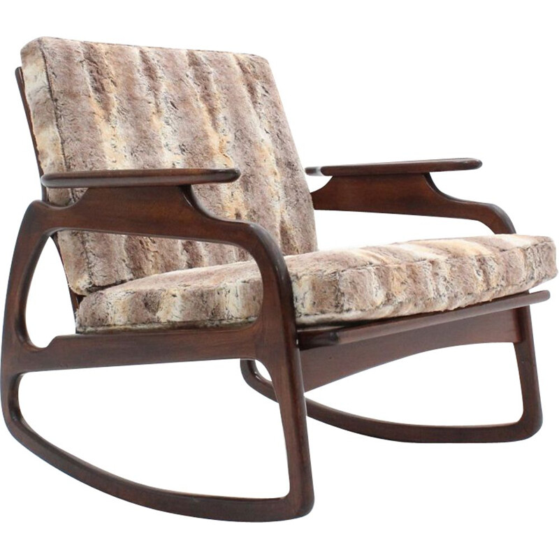 Vintage  rocking chair  by Adrian Pearsall, 1950s