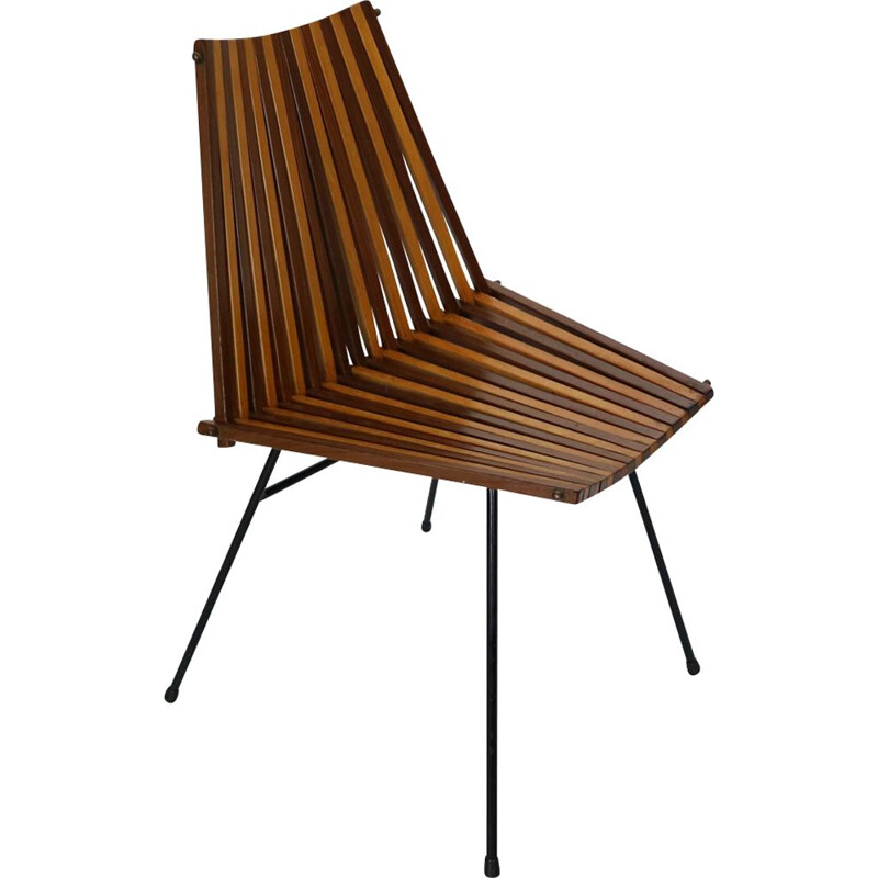 Vintage chair by Dirk van Sliedregt for Rohé Noordwolde, 1960