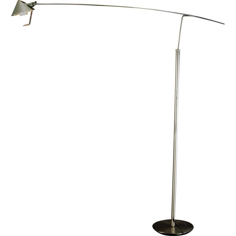 Vintage Nestor Terra floor lamp  by Carlo Forcolini for Artemide