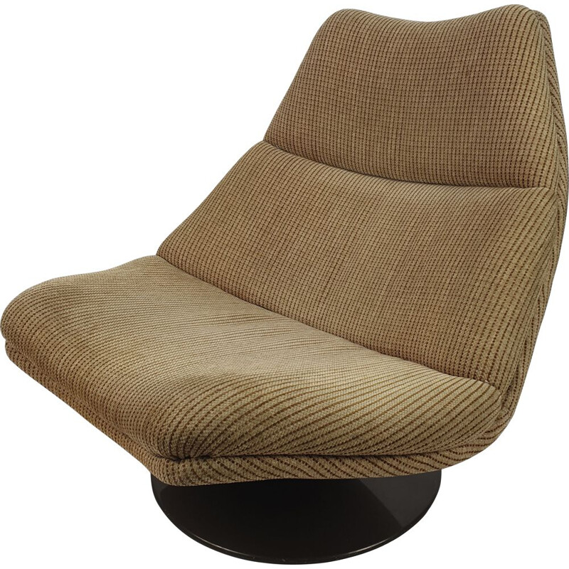 Vintage F511 Lounge Chair by Geoffrey Harcourt for Artifort, 1960s