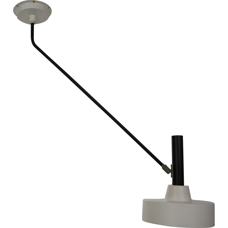 """Wall or ceiling lamp, Model """"190 B"""" by Willem Hagoort, Netherlands, 1950s"""