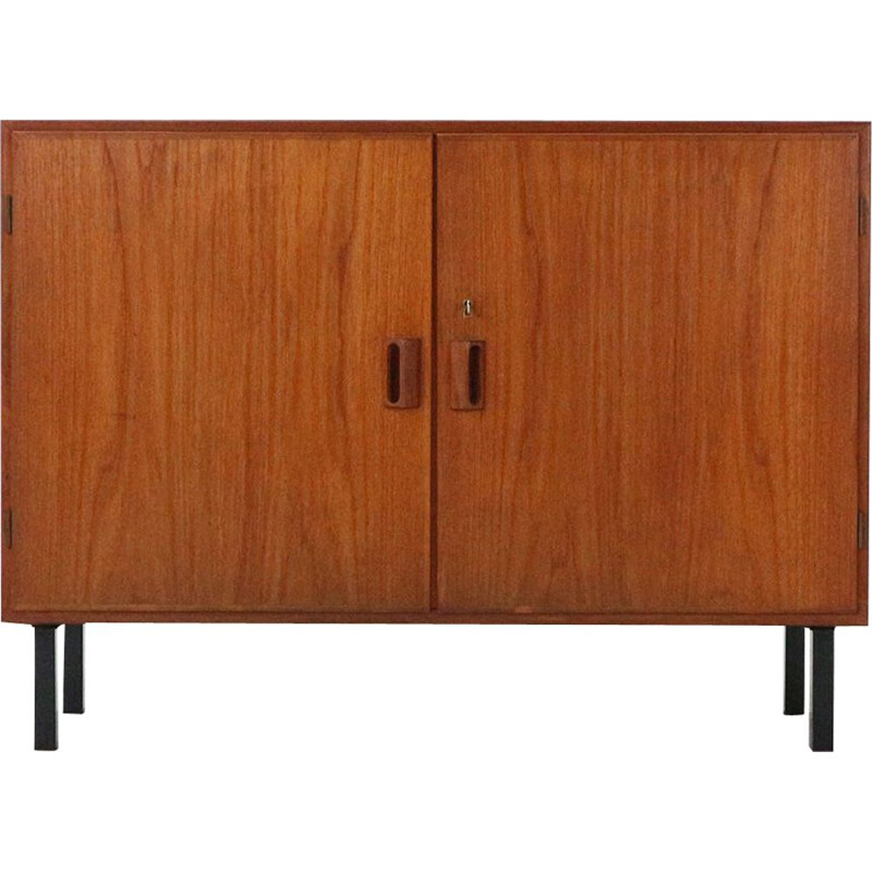Vintage small Danish 2-door sideboard by Børge Mogensen for Søborg Møbler