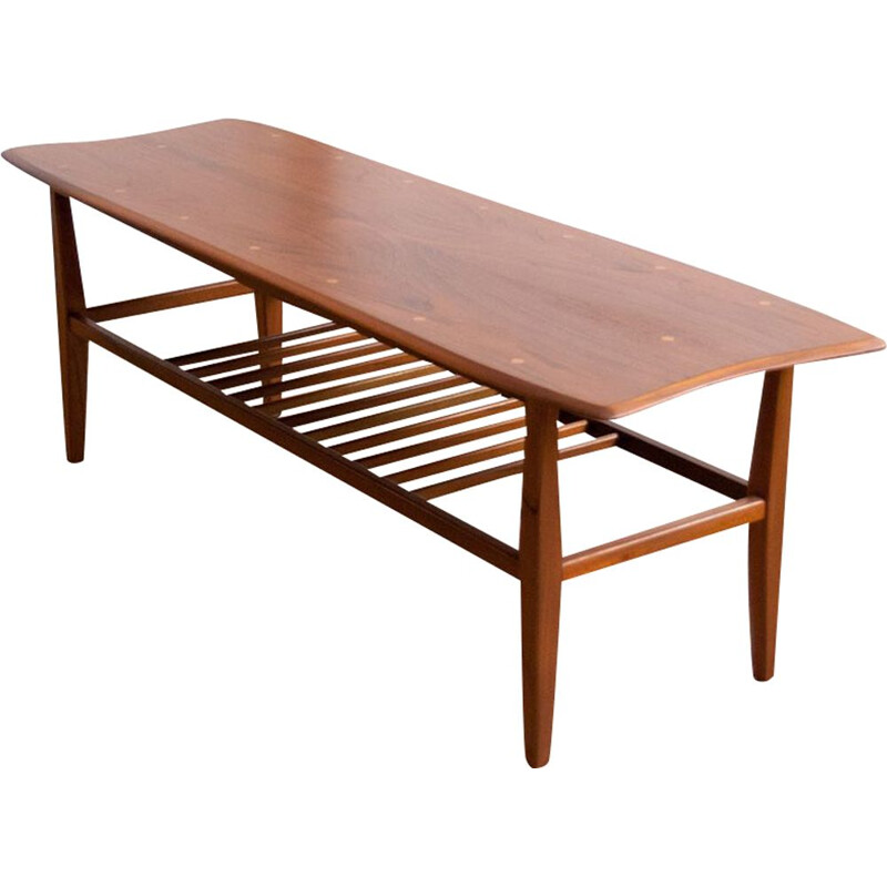 Scandinavian vintage coffee table, 1960s