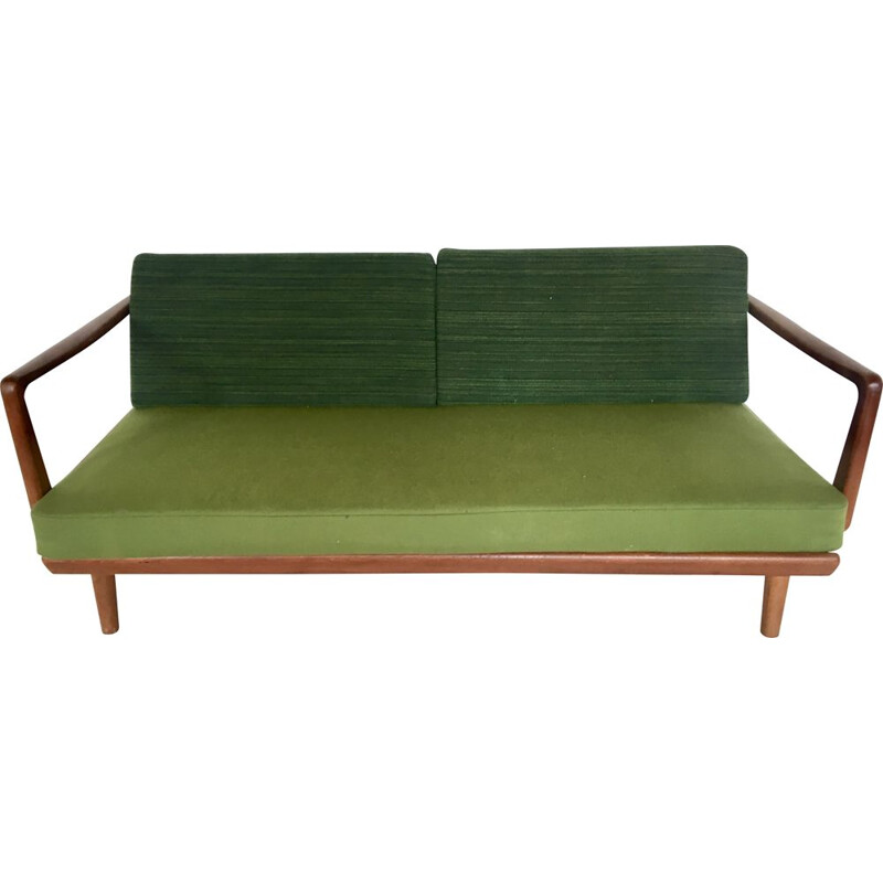 Vintage bench by Peter 00Hvidt and Orla Munlgaard-Nielsen for France-Son, Denmark, 1960