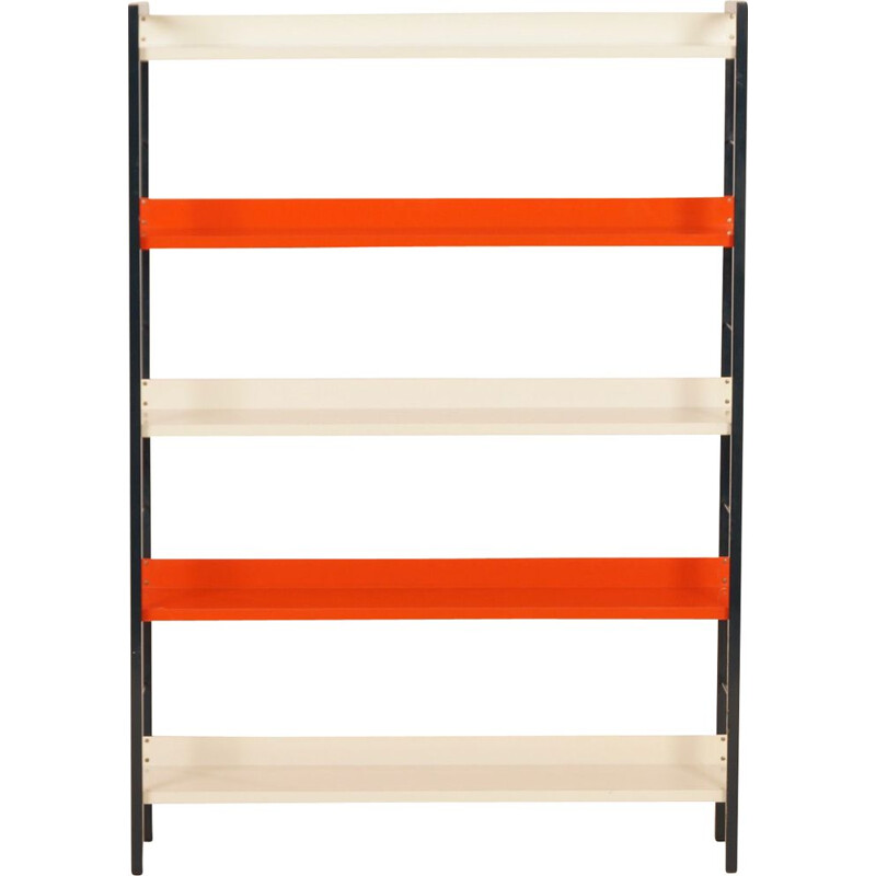Vintage Metal Bookcase by Adriaan Dekker for Tomado, 1950s