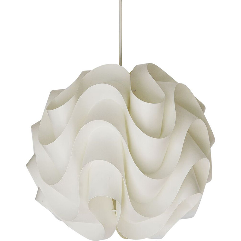 Vintage pendant light P172 by Poul Christiansen for Le Klint. Denmark 1970