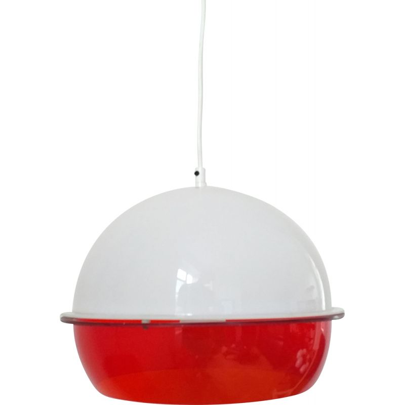 Pendant light in style Harvey Guzzini, Italy, 1970s