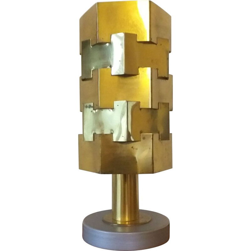 Vintage table lamp in style of Max Sauze, 1960s