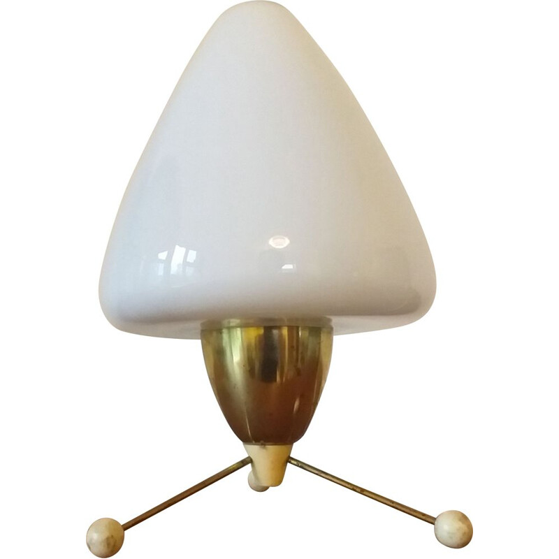 Vintage table lamp Rocket, Stanislav Kučera, Kamenicky Senov, 1960s