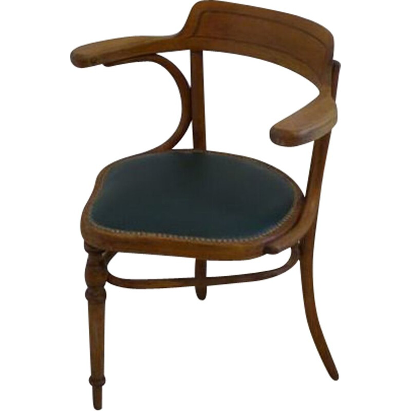 Rare vintage armchair Thonet at 3 legs, 1930s