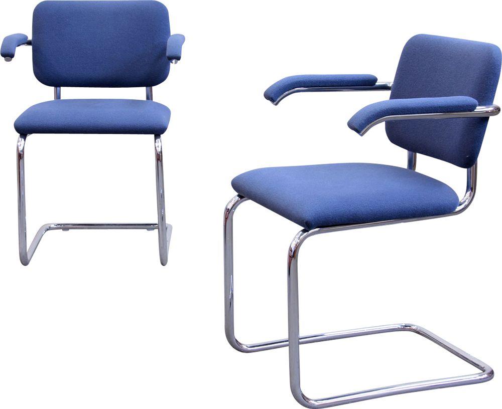 Vintage armchair Cesca B64 by Marcel Breuer by Knoll ...