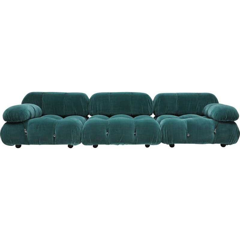 Vintage cameleonda sectional Sofa by Mario Bellini 1970