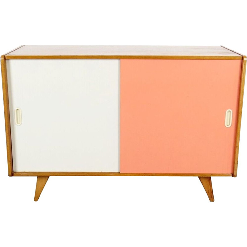 Vintage bicolore chest of drawers by Jiri Jiroutek, 1960s