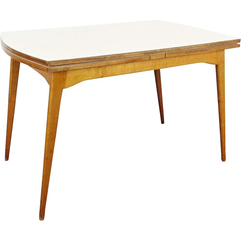 Vintage folding dining table, Czechoslovakia, 1960