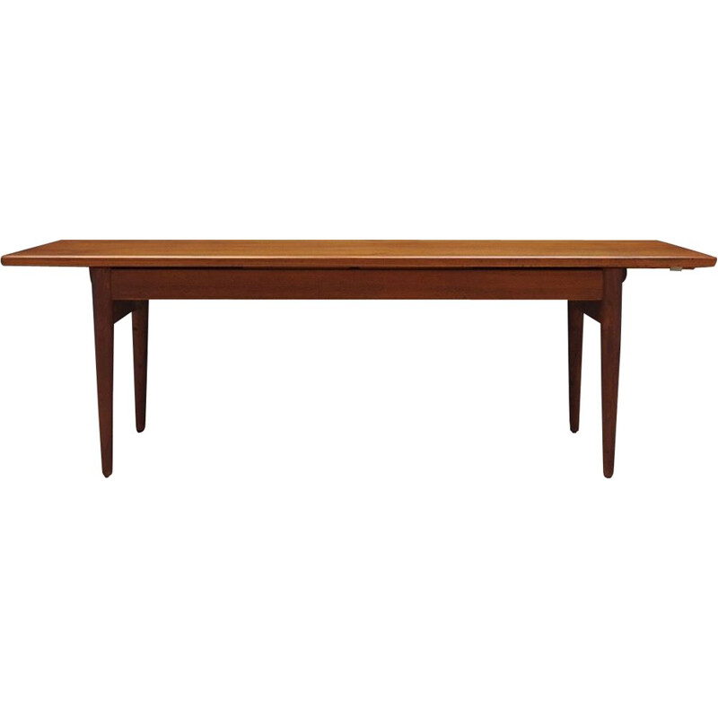 Vintage teak coffee table, Denmark, 1960-70s
