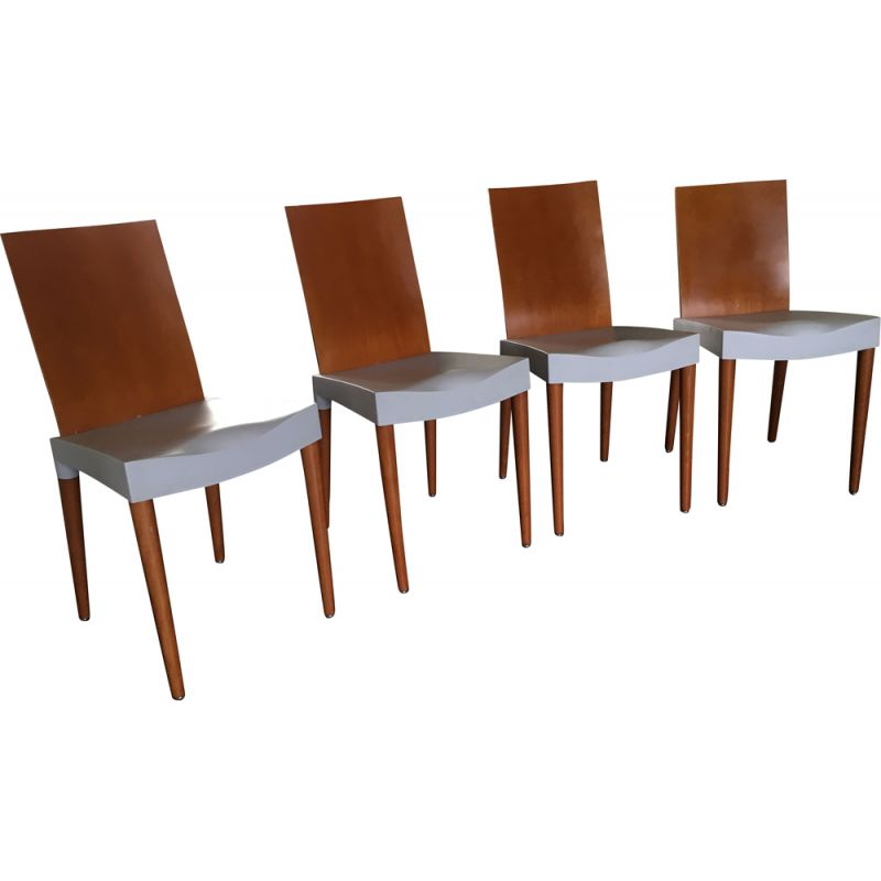Living Room Bedroom Combo Ideas, Set Of 4 Vintage Dining Chairs By Philippe Starck For Kartell 1990s Design Market