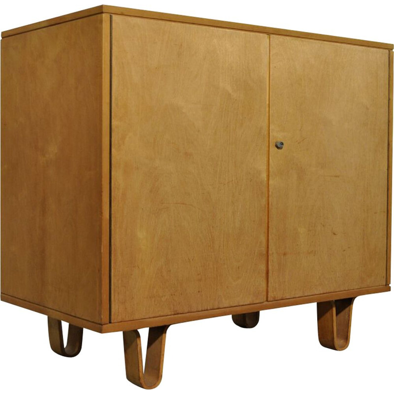 Birch vintage cabinet by Cees Braakman for Pastoe, 1950s