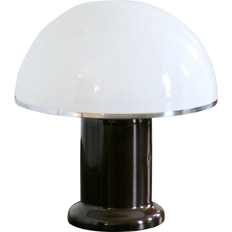 Vintage mushroom lamp, Habitat edition, France, 1978