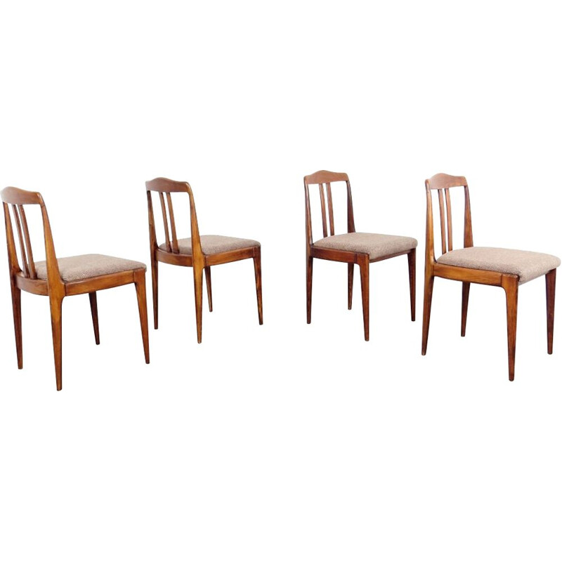 Set of 4 dining chairs by Drevotvar Jablonne nad Orlici, 1970