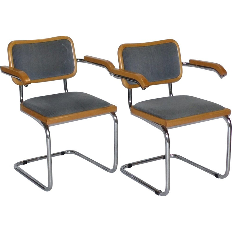 Pair of vintage chairs Modelle B64 1980
