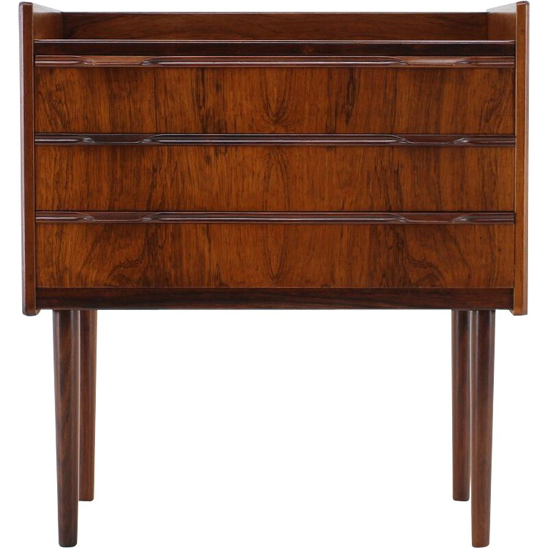 Vintage rosewood chest of drawers, Denmark, 1960s