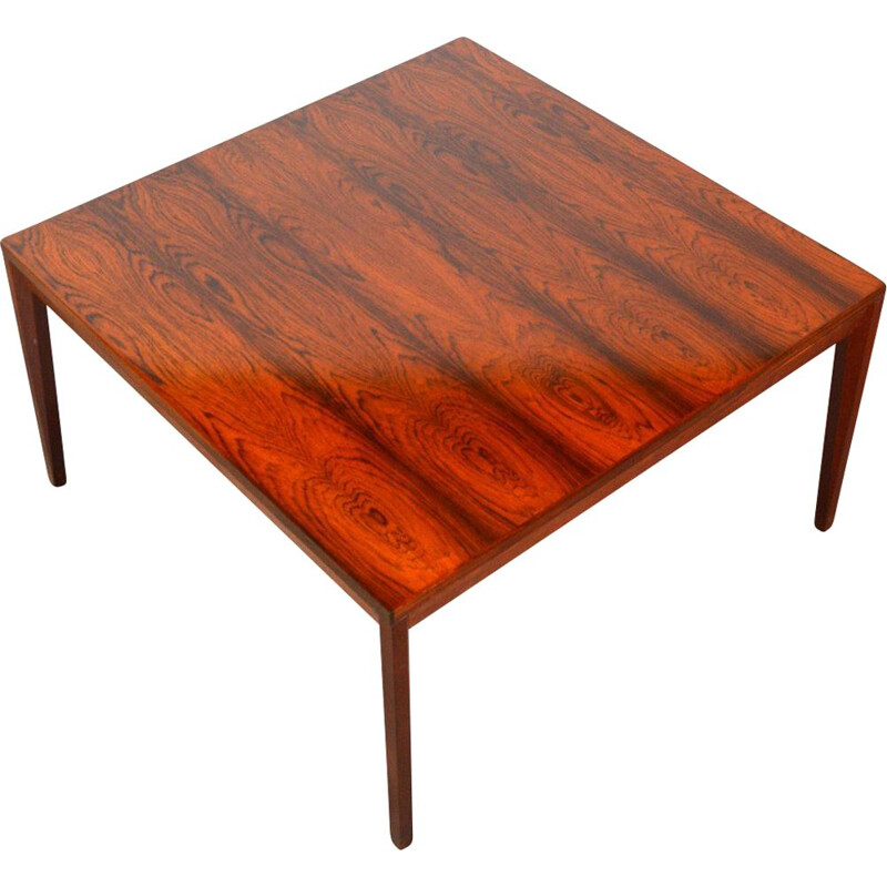 Vintage rosewood coffee table, Denmark, 1960s