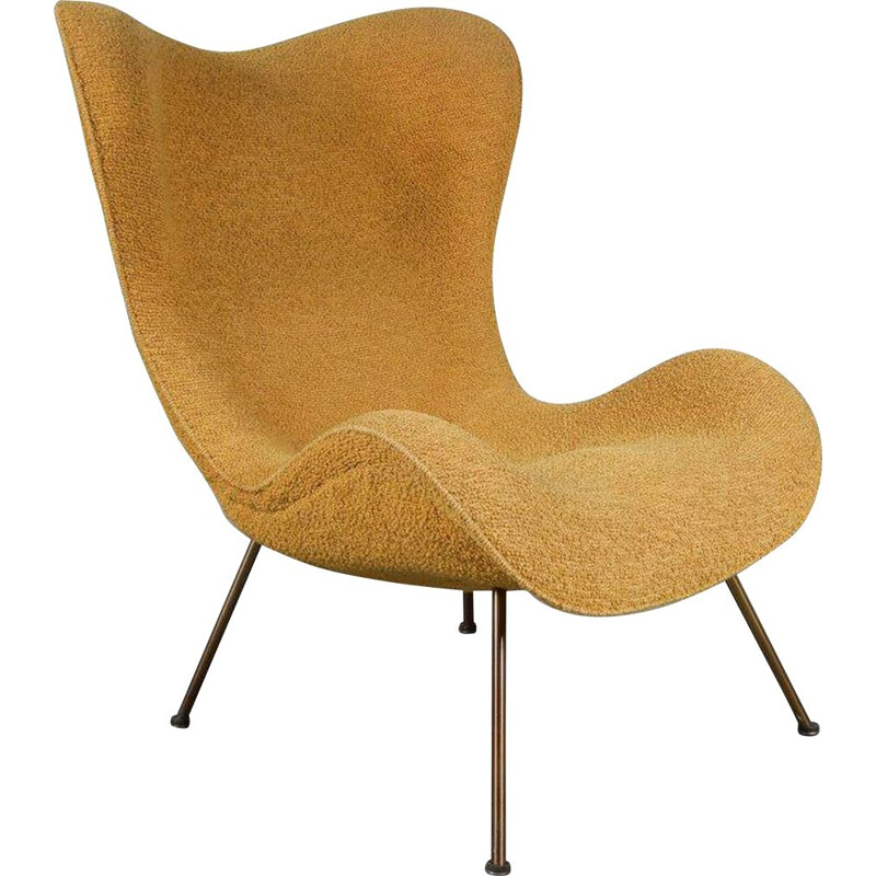 "Vintage ""Madame"" armchair by Fritz Neth for Correcta, Germany, 1950s"