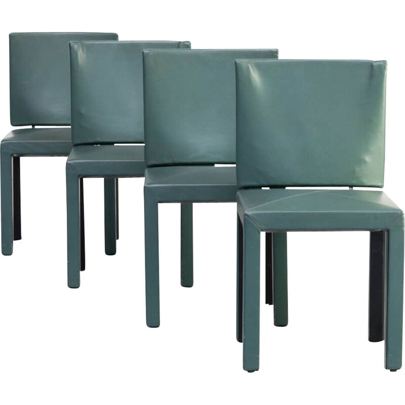 "Set of 4 vintage ""arcadia"" dining chairs by Paolo Piva for B&B, Italy, 1990s"