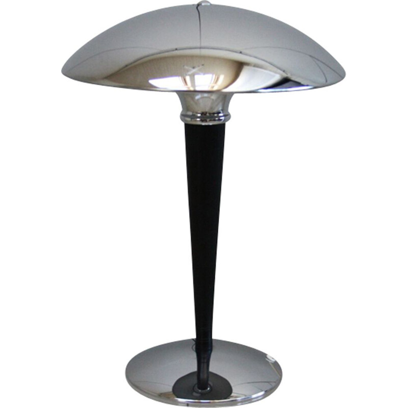 Vintage table lamp in art deco style, Sweden, 1970s