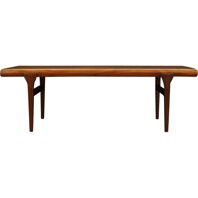 Vintage teak coffee table Johannes Andersen 1970
