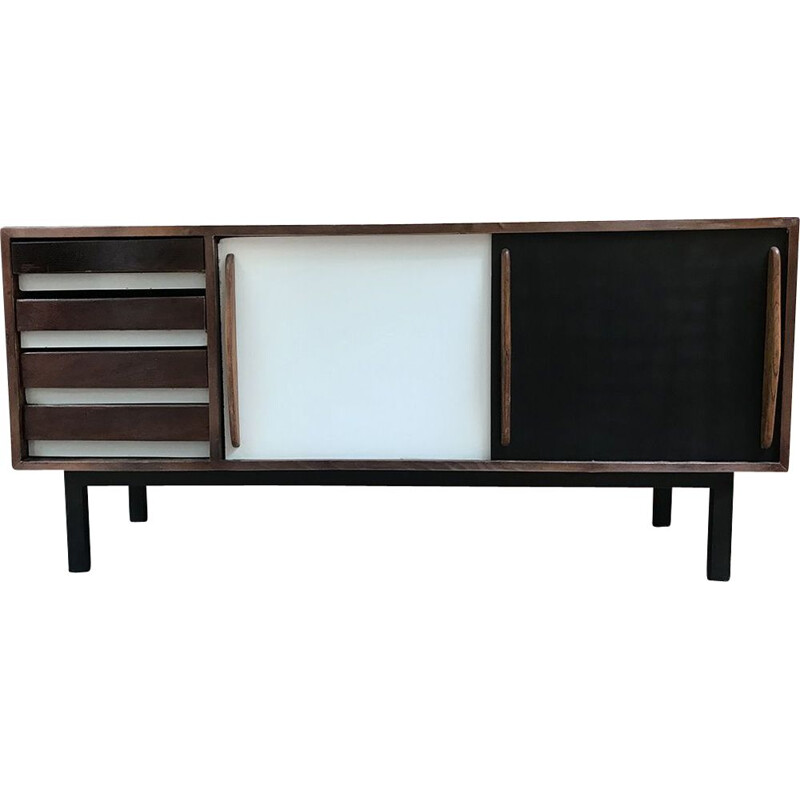 Cansado vintage buffet by Charlotte Perriand, 1959s