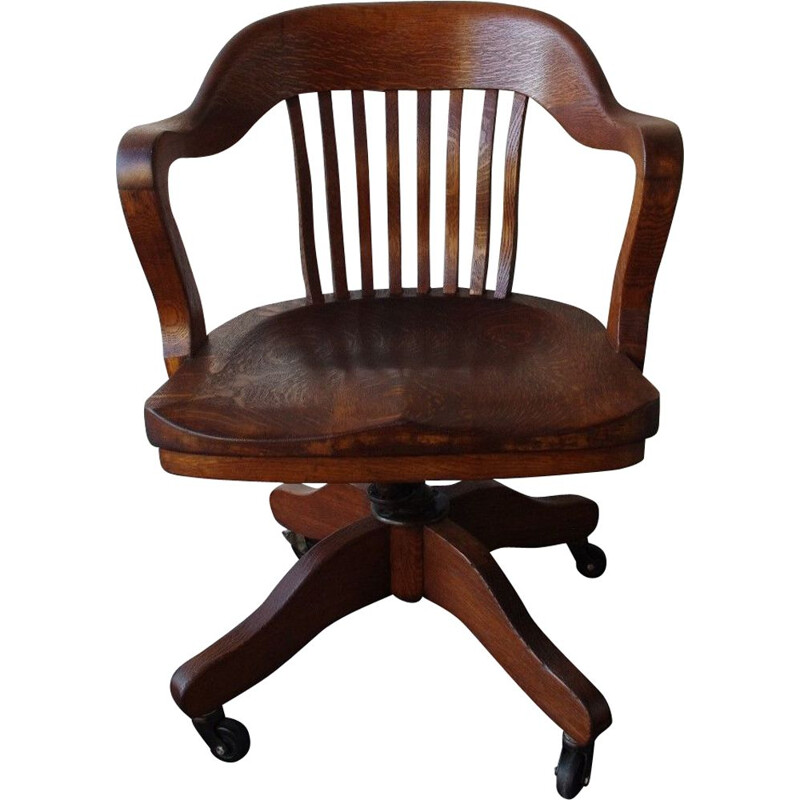 Vintage swivel desk chair by Taylor Comfortable chairs