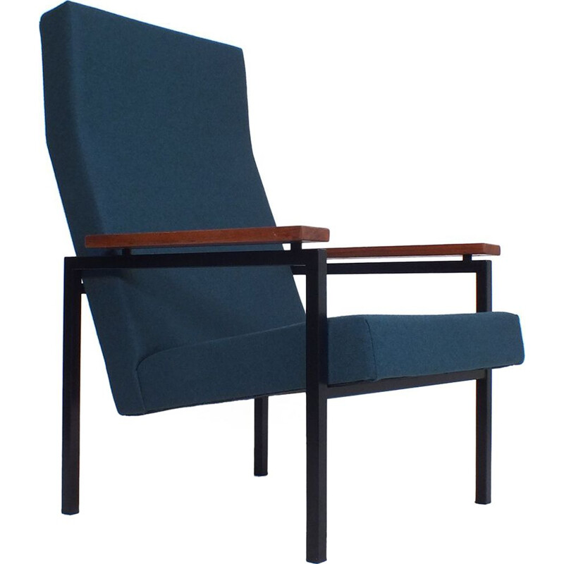 Vintage armchair with high backrest by Gelderland, 1960