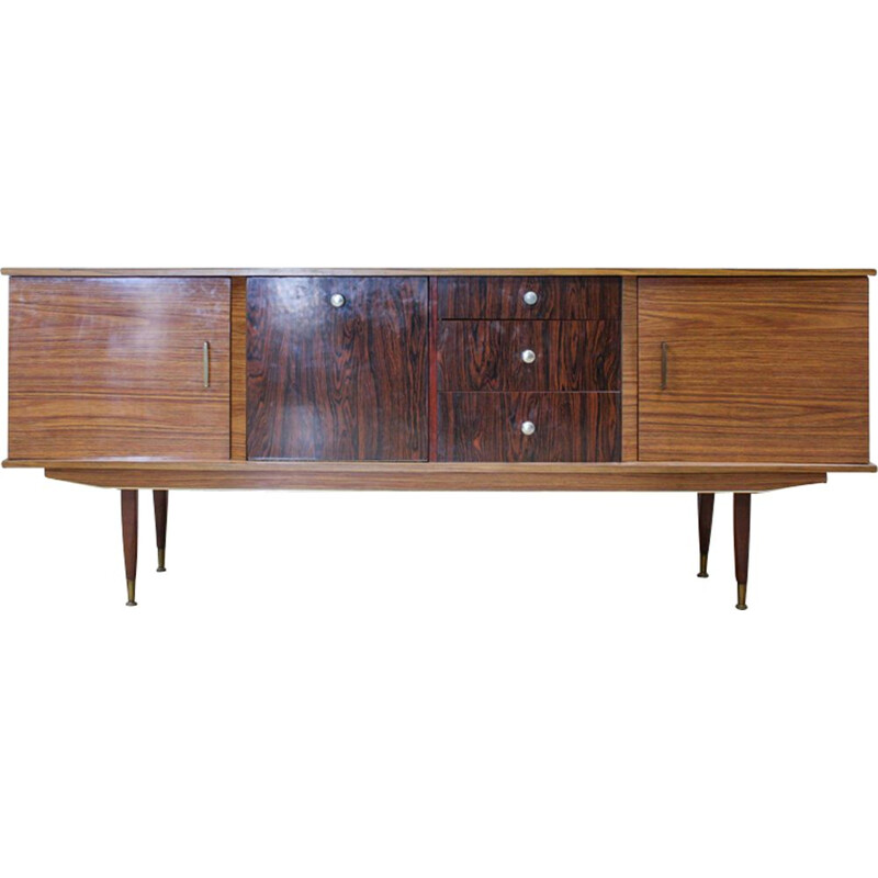 Vintage 2 doors English Sideboard, 1950s