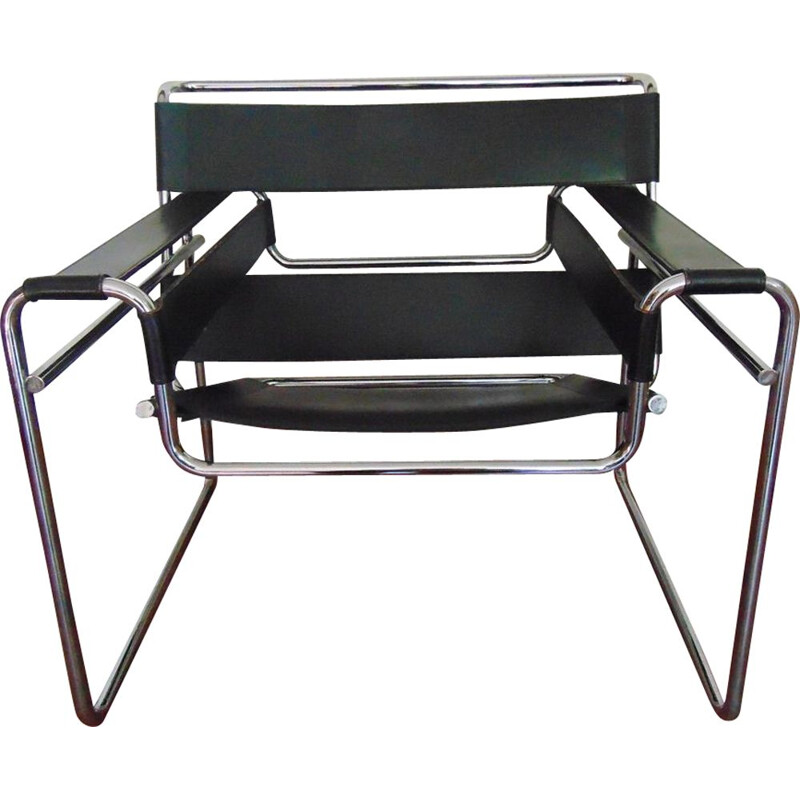 Vintage chair model Wassily by Marcel Breuer, 1970