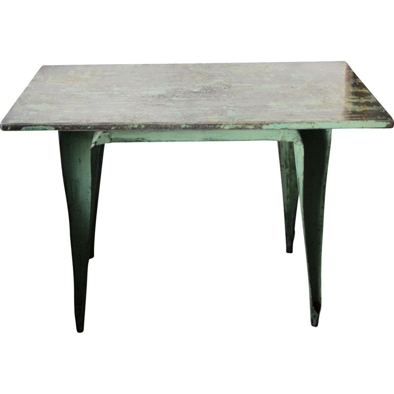 Vintage industrial table by Joseph Mathieu for Multipl's, 1930s