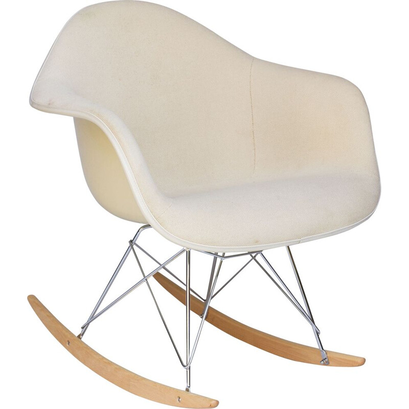 "Vintage ""RAR"" rocking chair by Charles & Ray Eames for Herman Miller"