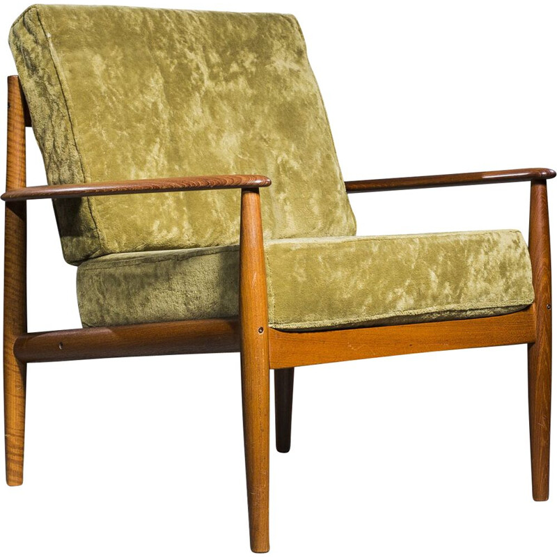 Vintage armchair by Grete Jalk for France & Søn, 1960s