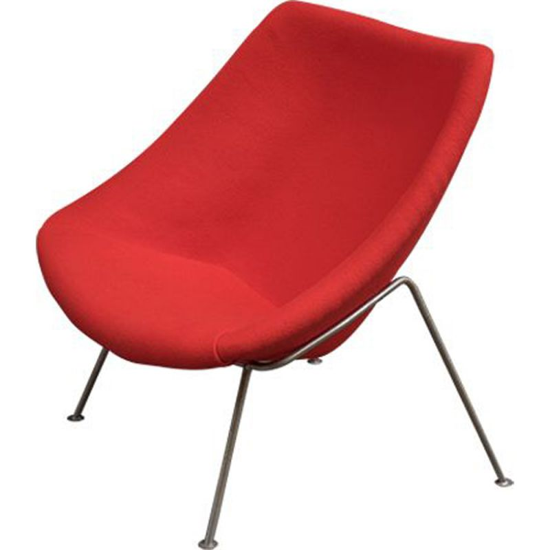 Vintage Oyster armchair by Pierre Paulin by Artifort, 1960s