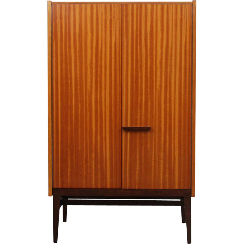Vintage wooden cabinet by Frantisek Mezulanik for UP Zavody, 1960s