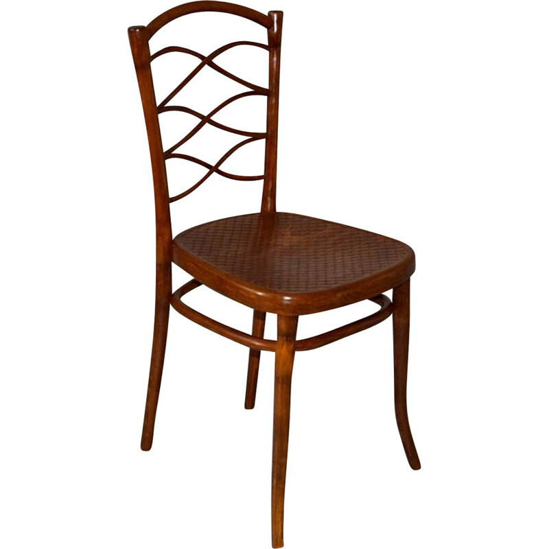Bentwood vintage chair by Thonet, 1885