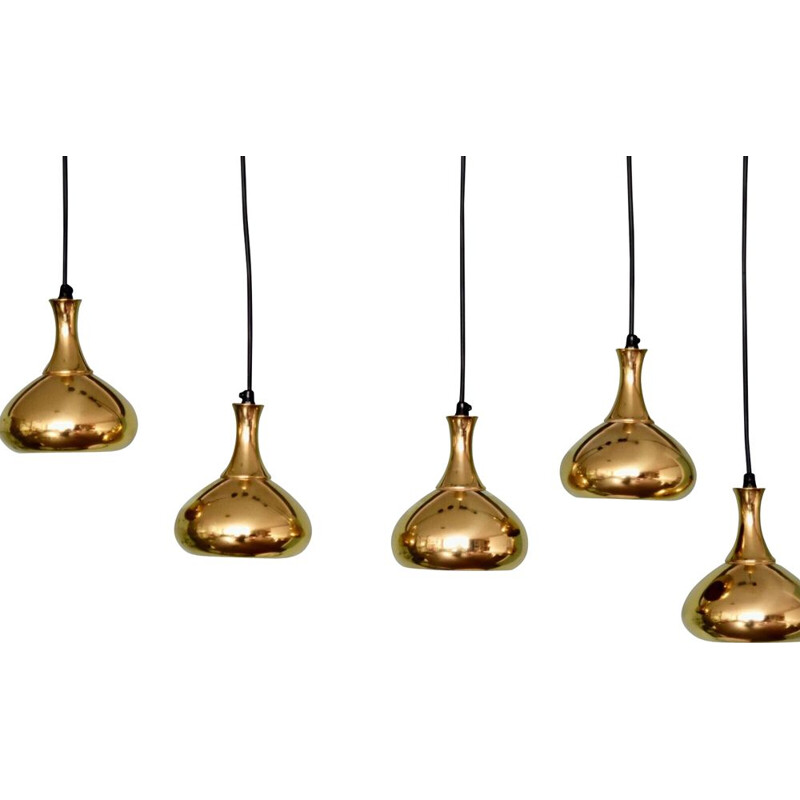 Vintage pendant light by Hans-Agne Jakobsson for Markaryd, Sweden, 1950s