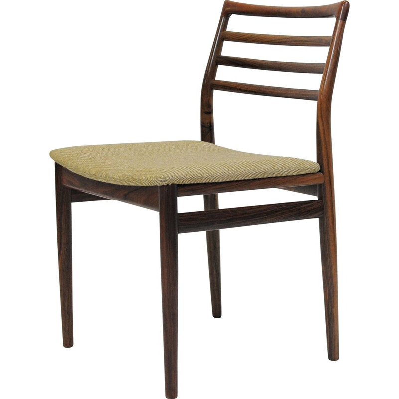 Vintage rosewood dining chairs by Erling Torvits for Sorø Møbelfabrik