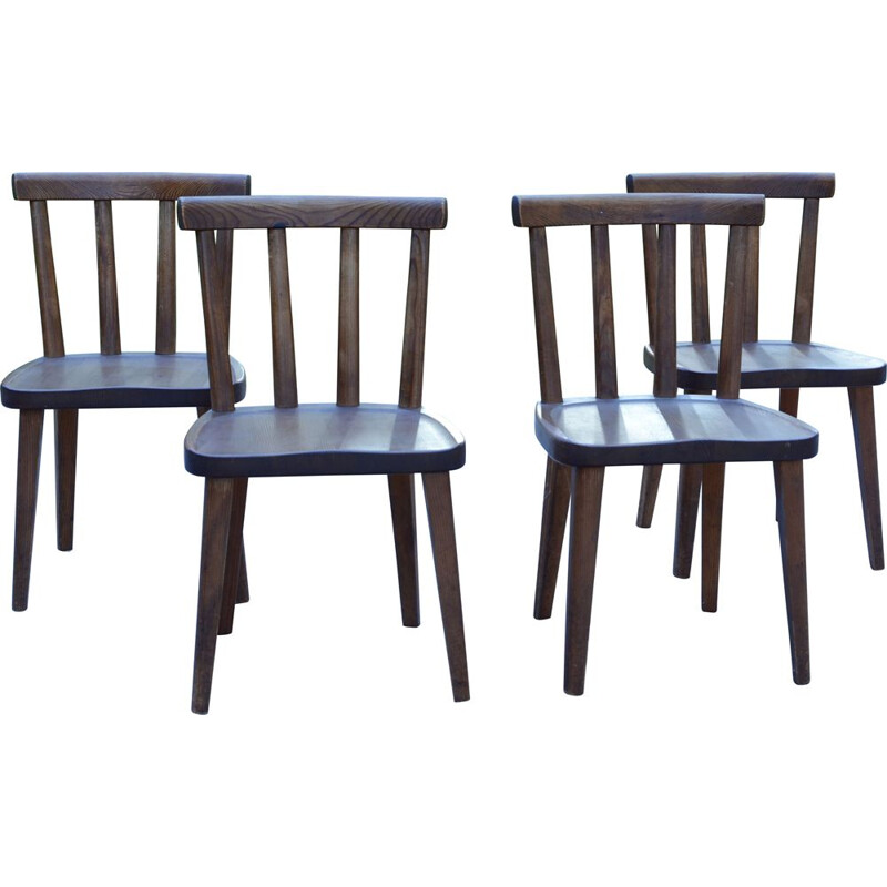 """Set of 4 vintage """"Utö"""" chairs by Axel Einar Hjorth, 1930s"""