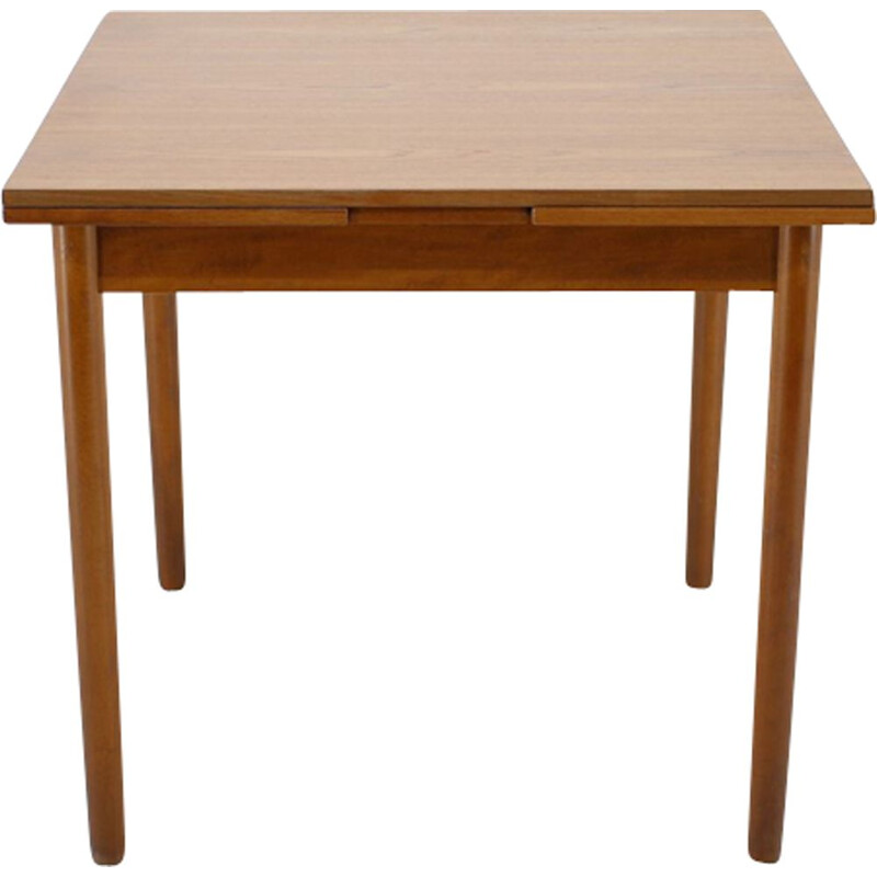 Vintage teak extendable table Danish 1960