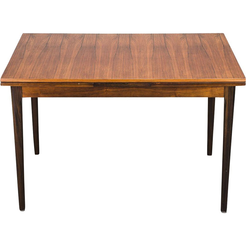 Vintage rosewood dining table from Lübke, 1960