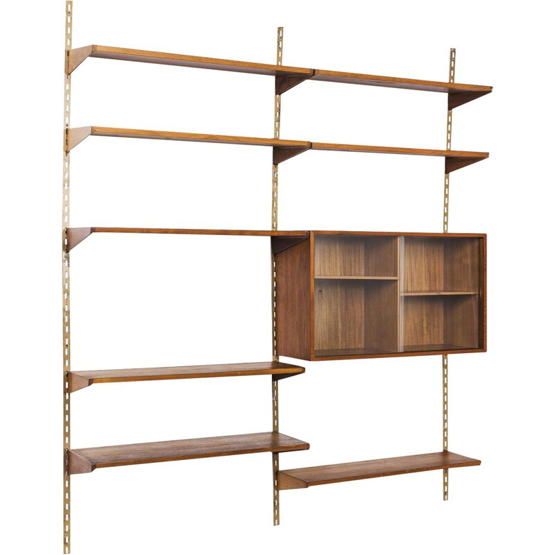 Vintage Danish FM shelving unit by Kai Kristiansen for FM Møbler, 1960