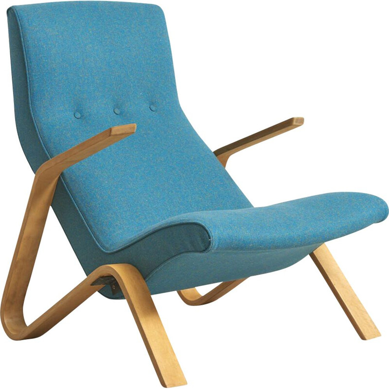 Vintage Grasshopper chair by Eero Saarinen for Knoll International