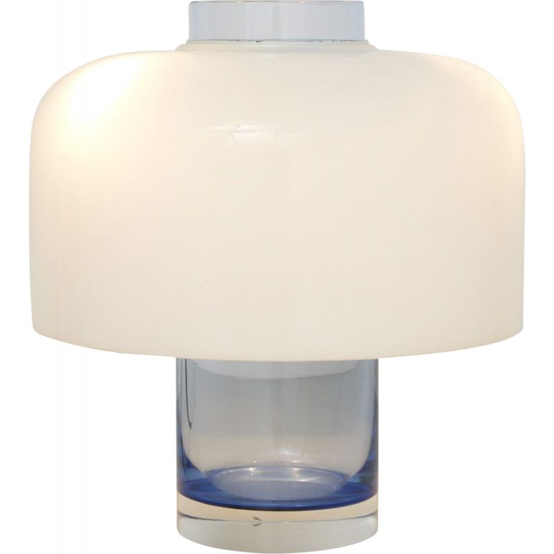 Vintage table lamp Model LT 226 in Murano glass by Carlo Nason